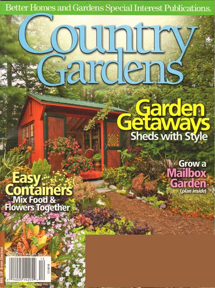 Country Gardens Cover - 4/1/2011