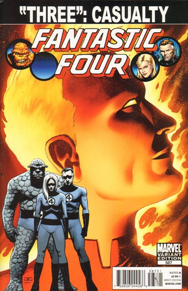 Fantastic Four Cover - 4/1/2011
