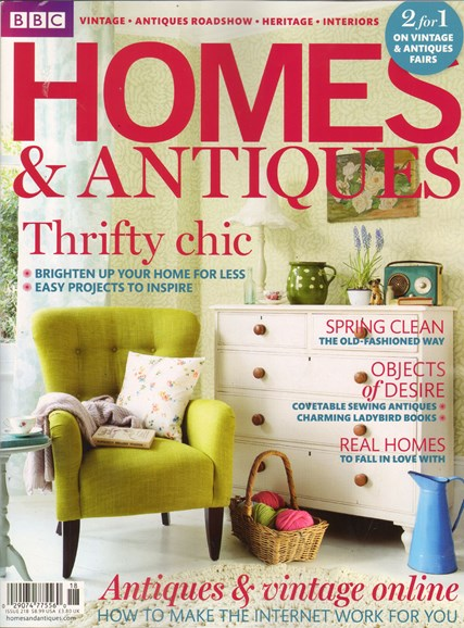 Homes & Antiques Cover - 4/1/2011