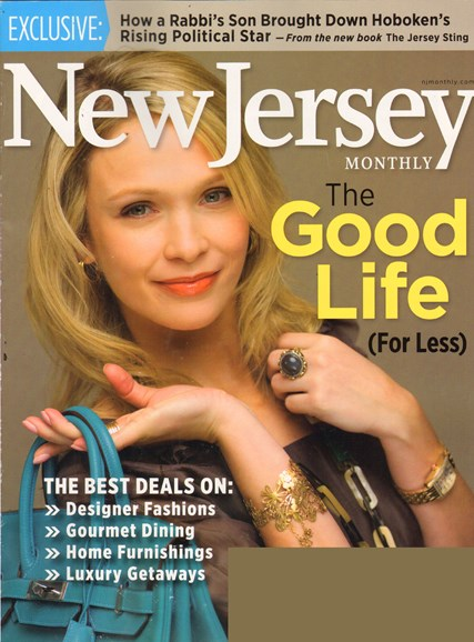 New Jersey Monthly Cover - 3/1/2011