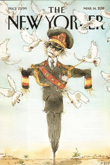 The New Yorker Cover - 3/14/2011