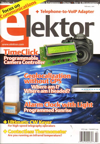 Elektor - North American Edition Cover - 2/1/2011