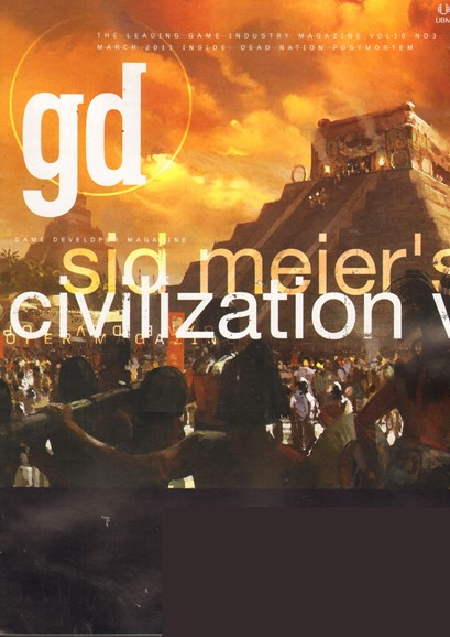 Game Developer Cover - 4/1/2011