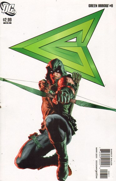 Green Arrow Cover - 3/1/2011
