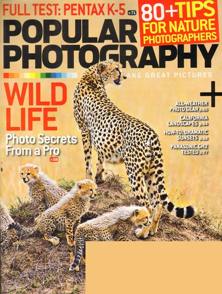 Popular Photography Cover - 3/1/2011