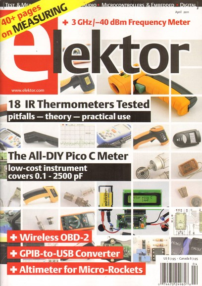 Elektor - North American Edition Cover - 4/1/2011