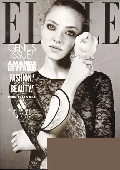 ELLE Cover - 4/1/2011