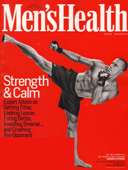 Men's Health Cover - 4/1/2011