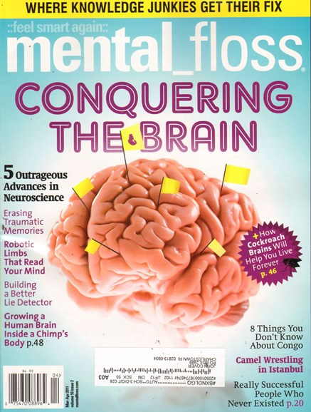 Mental Floss Cover - 3/1/2011