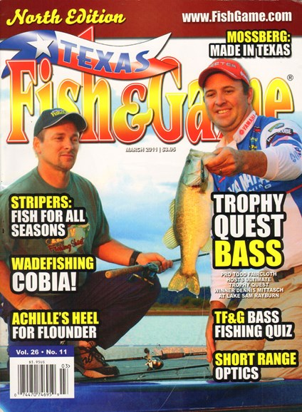 Texas Fish & Game Cover - 3/1/2011