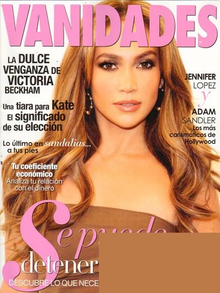 Vanidades Cover - 4/1/2011