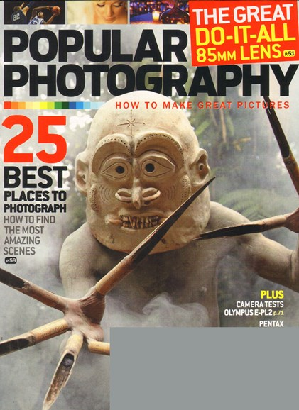 Popular Photography Cover - 4/1/2011
