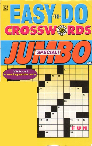 Lots of Easy Crosswords Cover - 4/1/2011