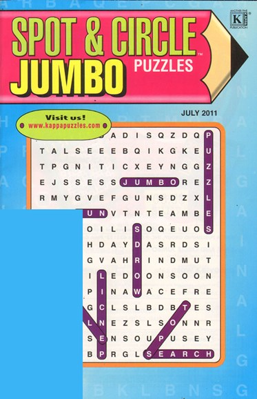 Spot & Circle Jumbo Cover - 7/1/2011