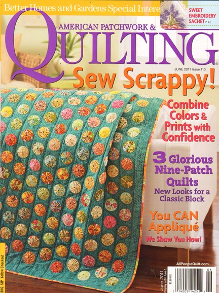 American Patchwork & Quilting Cover - 6/1/2011