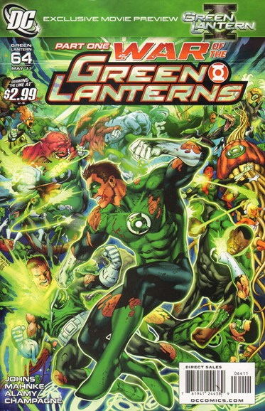 Green Lanterns Cover - 5/1/2011