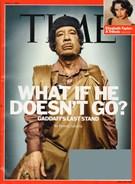 Time Magazine 4/4/2011