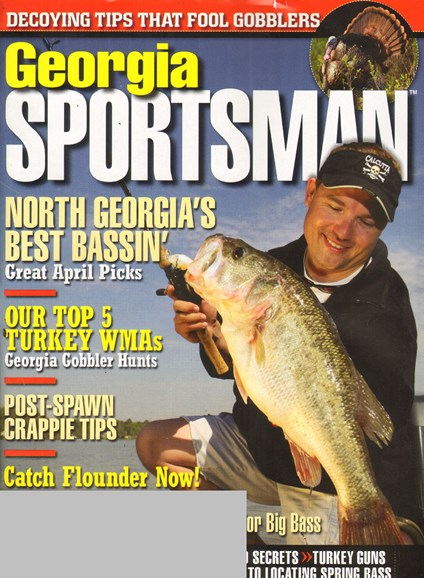Georgia Sportsman Cover - 4/1/2011