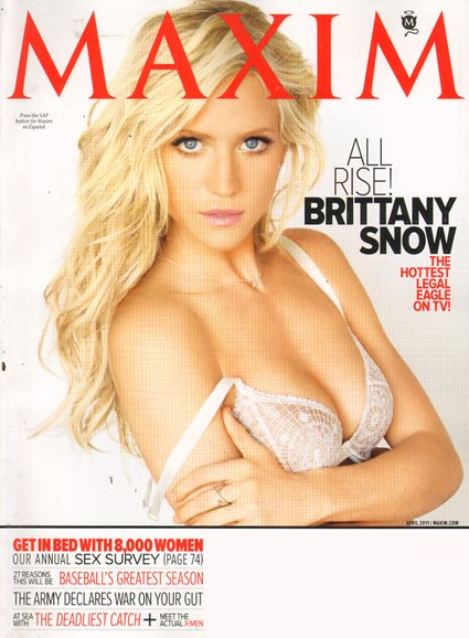 Maxim Cover - 4/1/2011