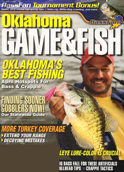 Oklahoma Game & Fish Cover - 4/1/2011