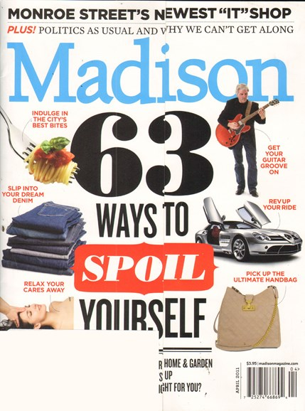 Madison Magazine Cover - 4/1/2011