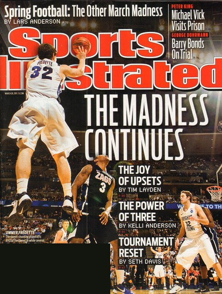 Sports Illustrated Cover - 3/28/2011