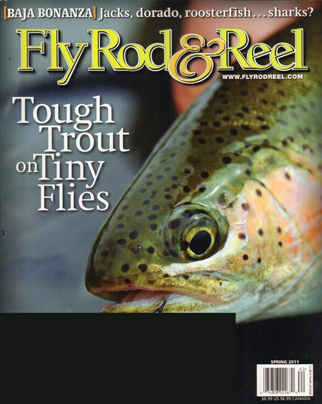 Fly Rod & Reel Magazine Cover - 4/1/2011
