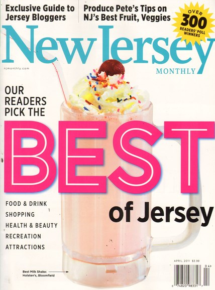New Jersey Monthly Cover - 4/1/2011