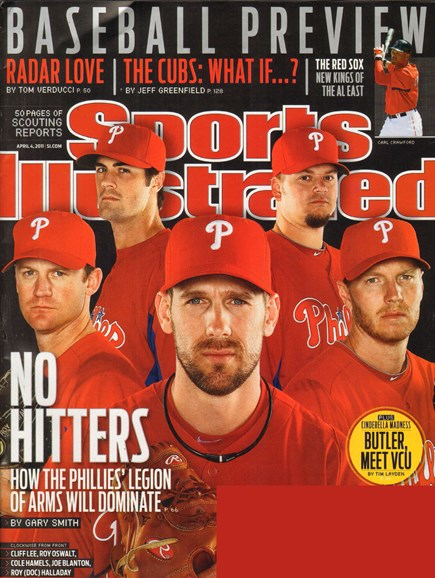 Sports Illustrated Cover - 4/4/2011