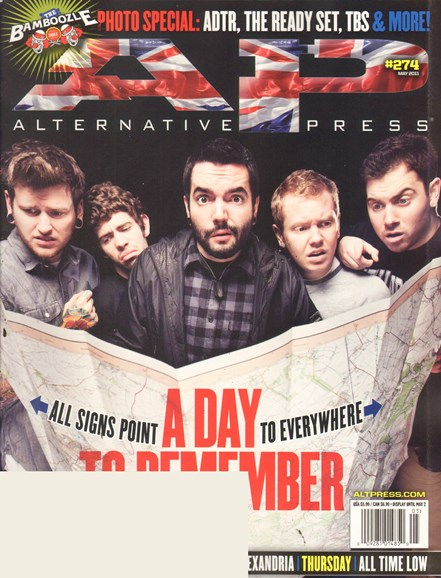 Alternative Press Cover - 5/1/2011