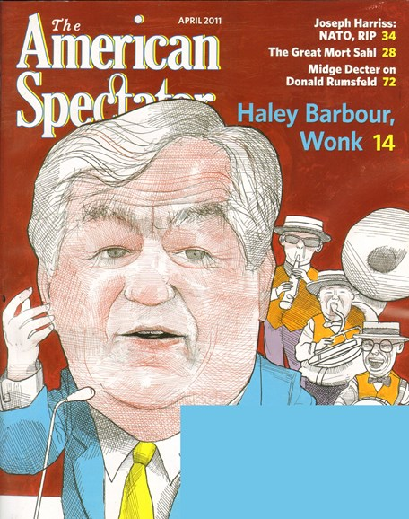 The American Spectator Cover - 4/1/2011