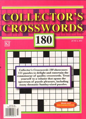 Collector's Crosswords Magazine | 6/1/2011 Cover