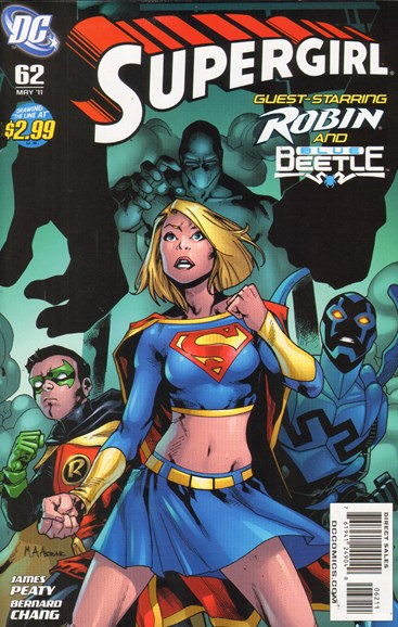 Supergirl Cover - 5/1/2011