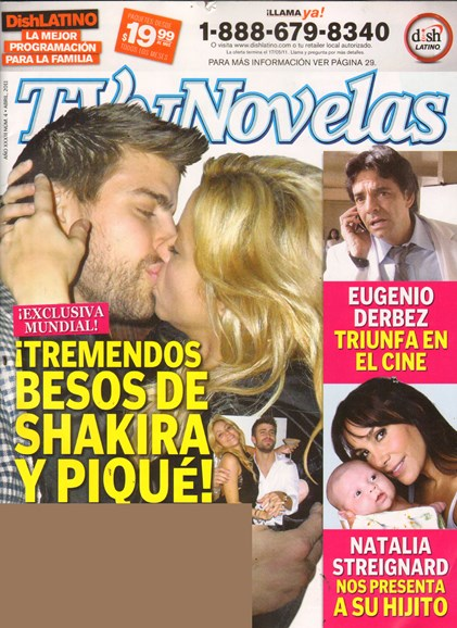 Tv Y Novelas Cover - 4/1/2011