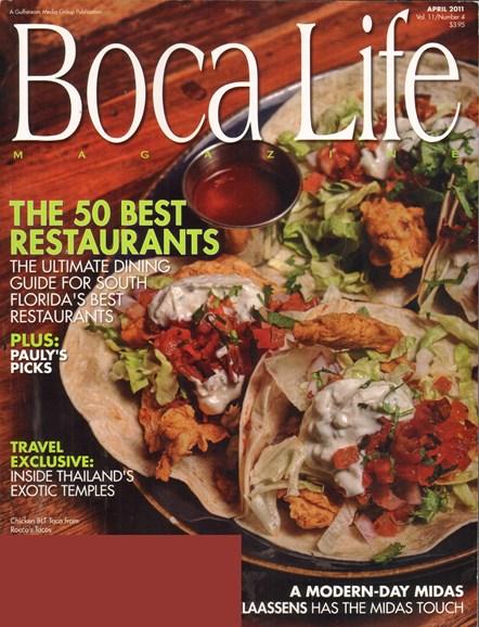 Boca Life Cover - 4/1/2011