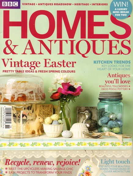 Homes & Antiques Cover - 5/1/2011