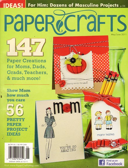 Paper Crafts Cover - 5/1/2011