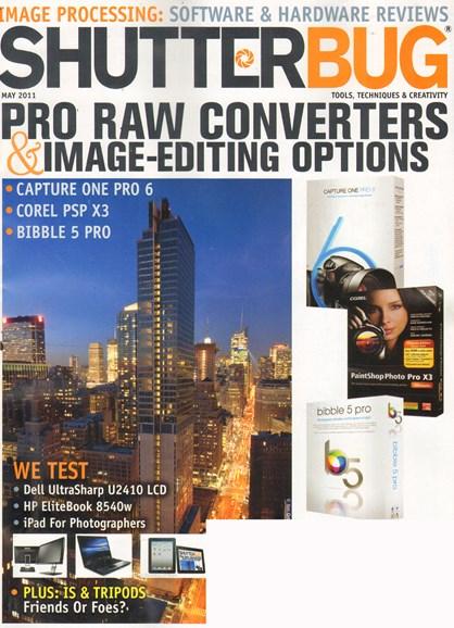 Shutterbug Cover - 5/1/2011