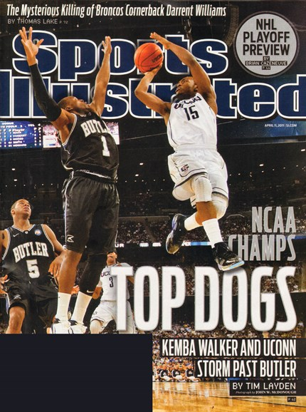 Sports Illustrated Cover - 4/8/2011