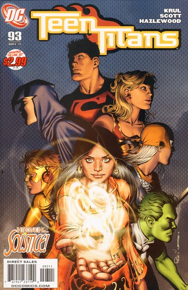 Teen Titans Cover - 5/1/2011