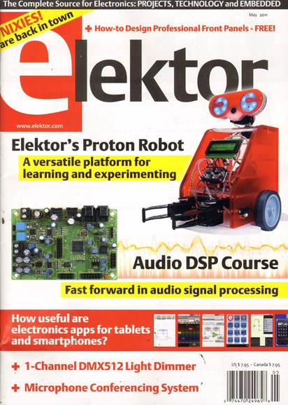 Elektor - North American Edition Cover - 5/1/2011