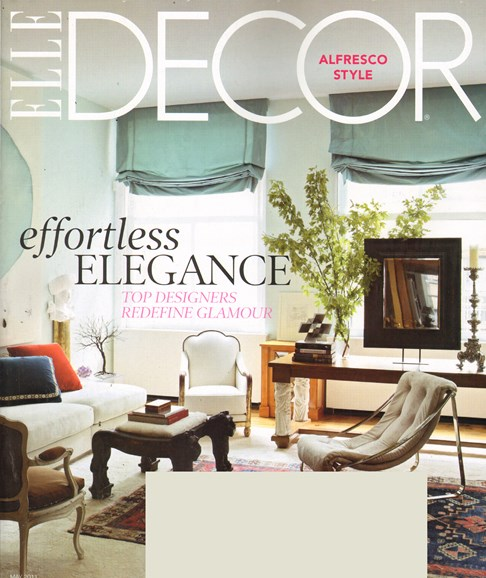 ELLE DECOR Cover - 5/1/2011