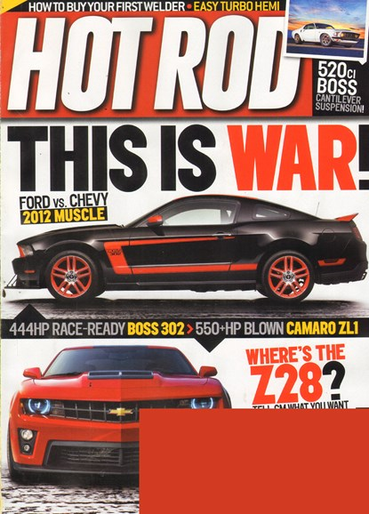 Hot Rod Cover - 6/1/2011