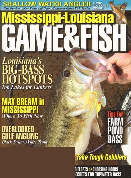 Mississippi Game & Fish Cover - 5/1/2011