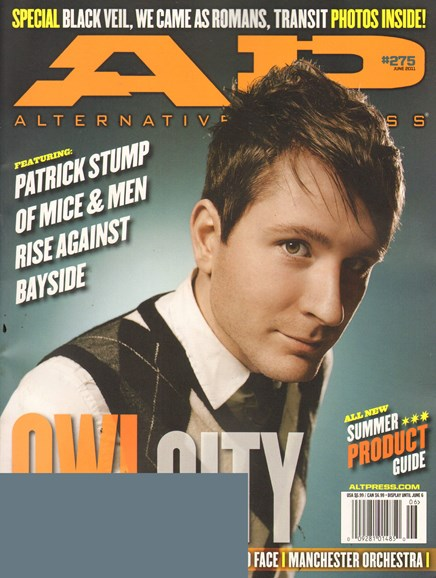 Alternative Press Cover - 6/1/2011