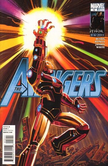 Avengers Cover - 5/4/2011