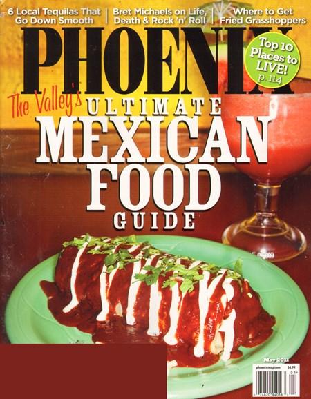 Phoenix Magazine Cover - 5/1/2011