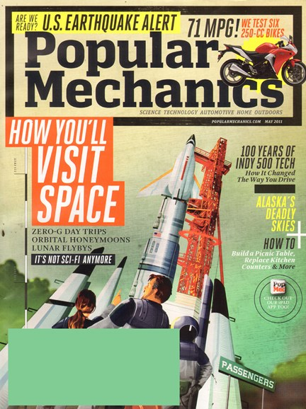 Popular Mechanics Cover - 5/1/2011