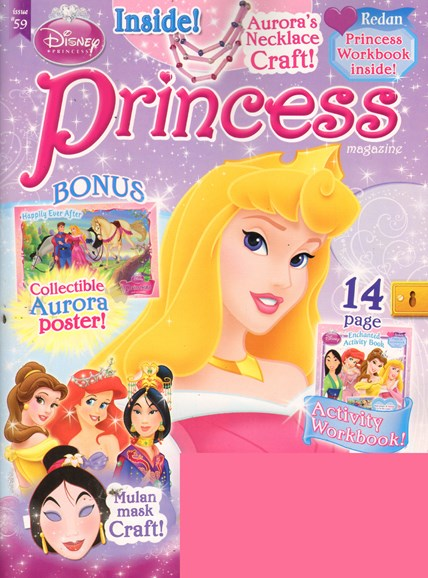 Disney Princess Cover - 5/1/2011