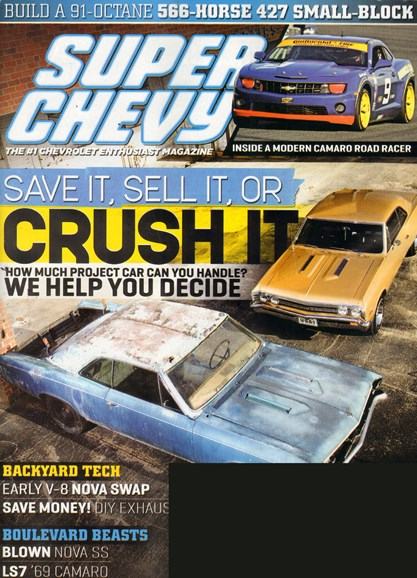 Super Chevy Cover - 6/1/2011